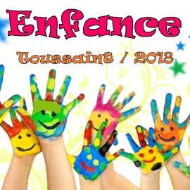 Vacances de la Toussaint 2018 (3-9 ans)