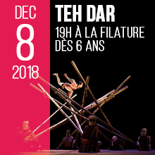 TEH DAR | Samedi 8 décembre 2018