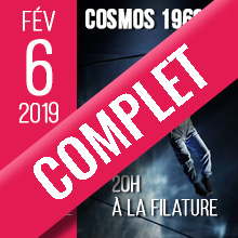 COMPLET Cosmos 1969 | Mercredi 6 février 2019