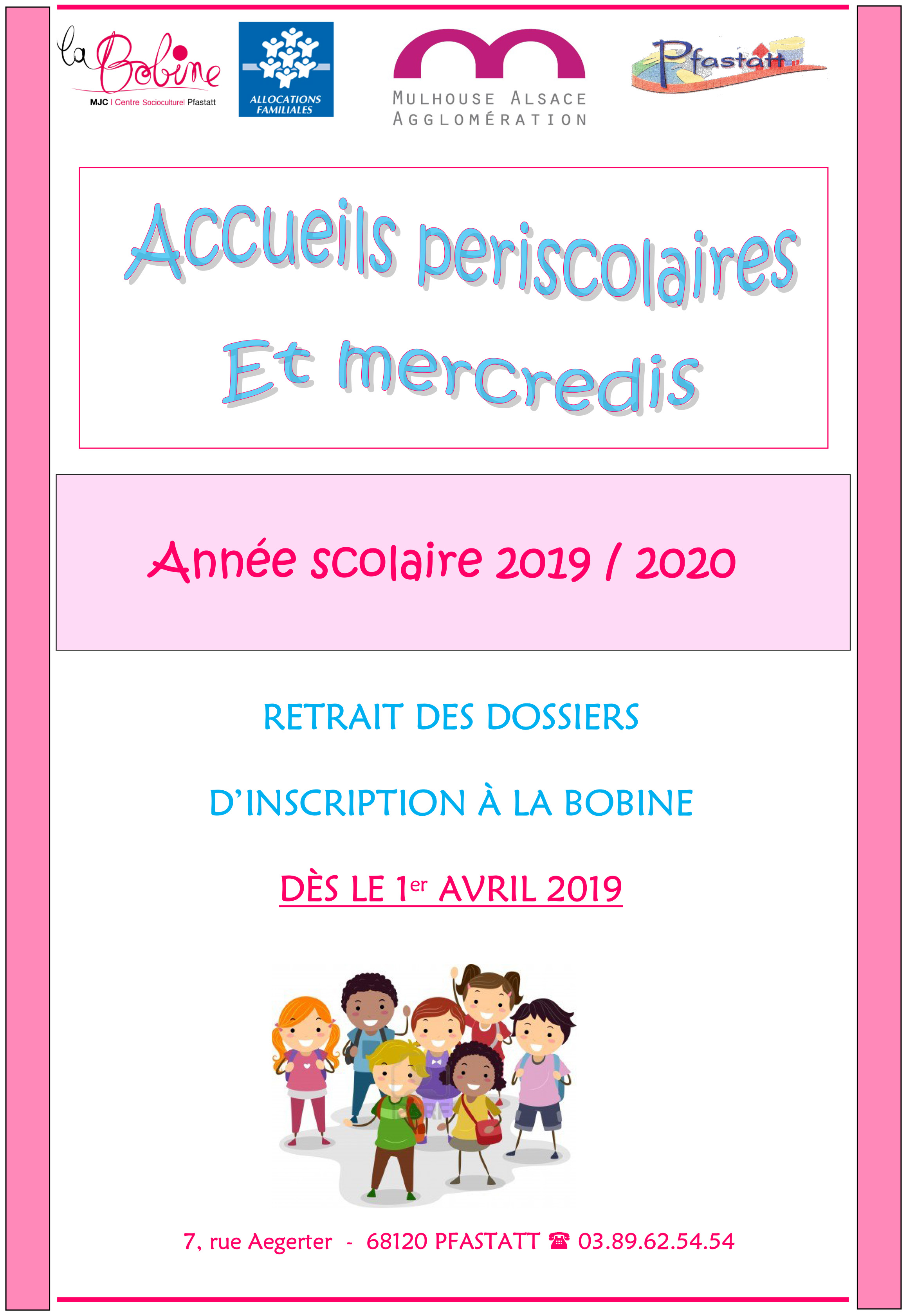 Microsoft Word - AFFICHE inscriptions periscolaire + LDM 2019 20