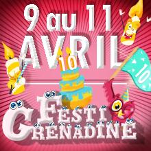 Festi'Grenadine a 10 ans | 9 au 11 avril 2019