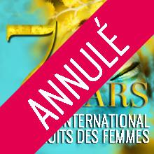 /!\ ANNULÉ /!\ Soirée internationale des droits des femmes | Samedi 7 mars 2020