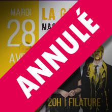 /!\ ANNULÉ /!\  La Galerie  | Mardi 28 avril 2020