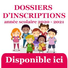 INSCRIPTIONS | Périscolaire, Mercredis et Restauration collège | rentrée 2020 / 2021