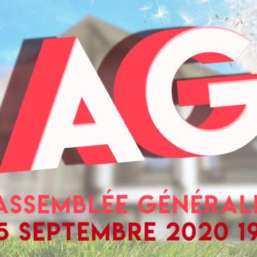 Assemblée générale | 25 septembre 2020