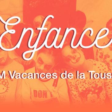 ACM Vacances de la Toussaint 2020                        (maternelles et primaires)