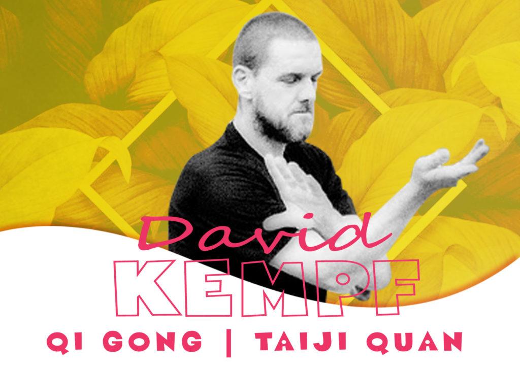 David Kempf intervenant Qi GONG et TAIJI QUAN de la journée