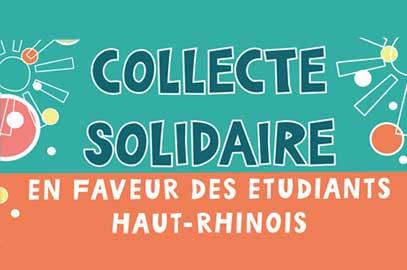 Collecte solidaire pour les étudiants